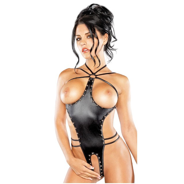 Medusa One-Piece Black Fetish Gear