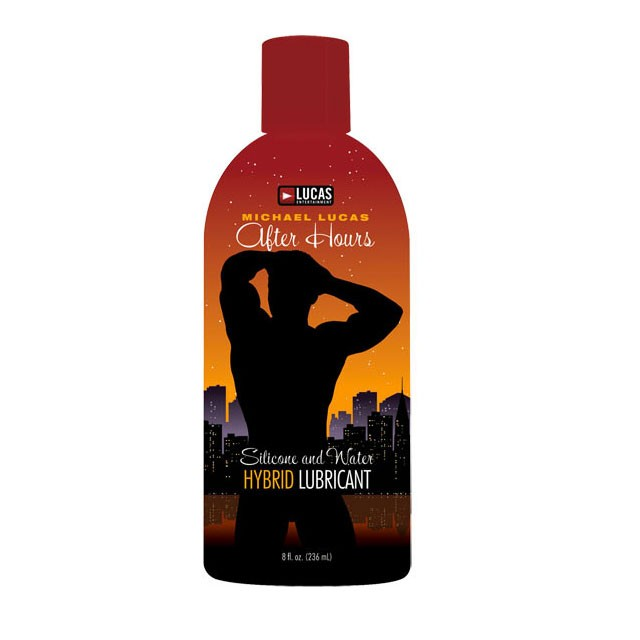 Michael Lucas After Hours Silicone and Water Hybrid Lubricant (8oz.)