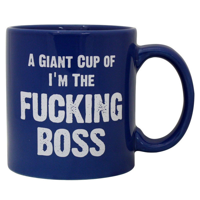 Mug :I'm The Fucking Boss