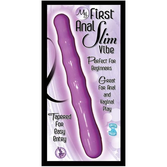 My First Anal Slim Vibe (Purple)