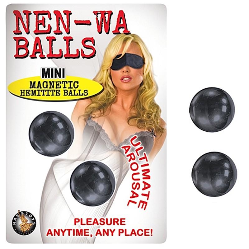 Nen Wa Balls Mini Magnetic Hemitite Balls-Graphite
