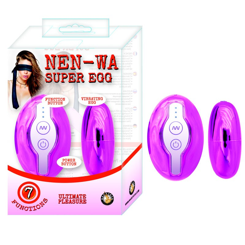 Nen-Wa Super Egg Pink