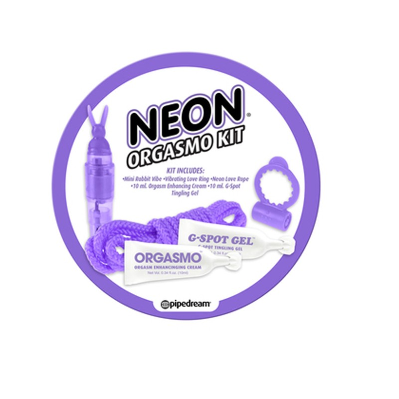 Neon Orgasmo Kit Purple