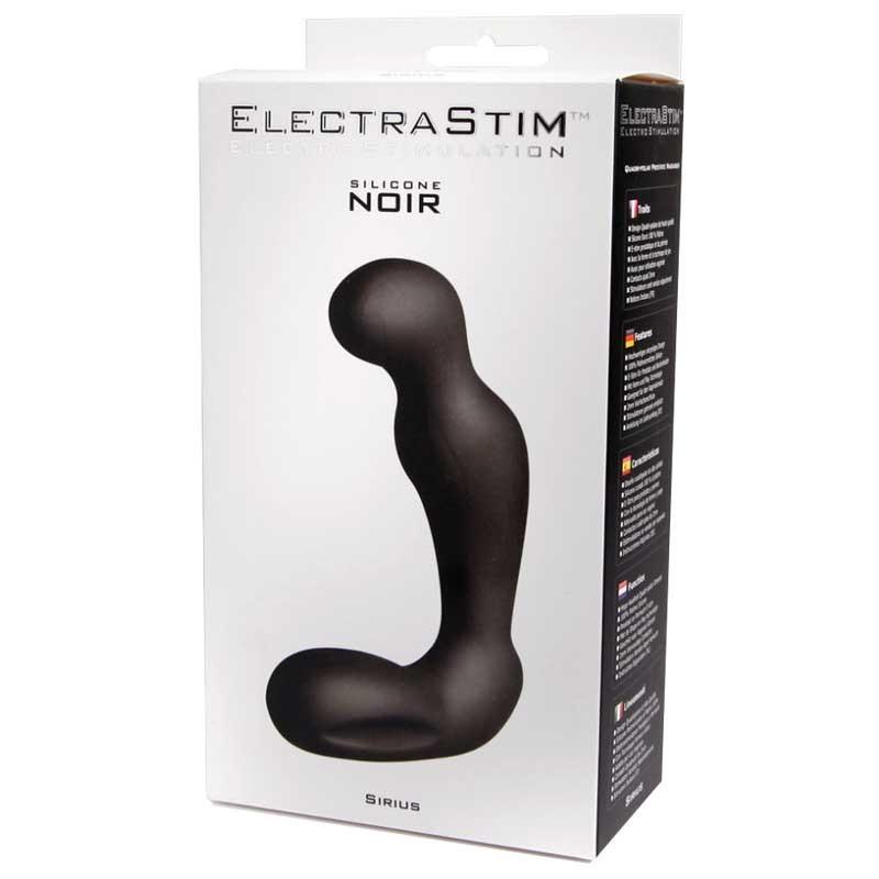 Noir Silicone Sirius Prostate Massager