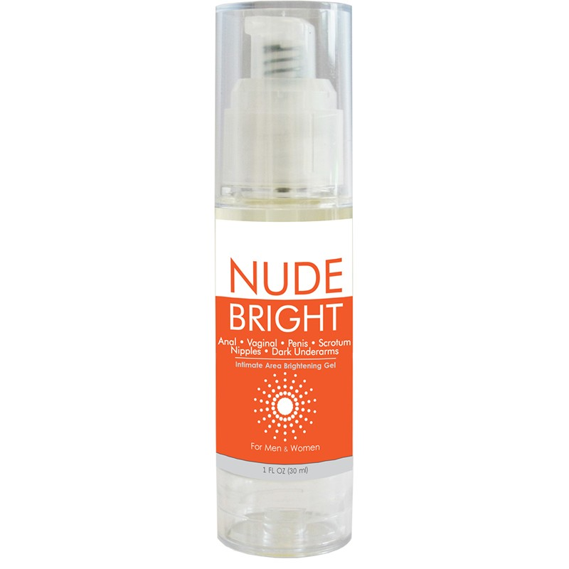 Nude Bright Intimate Area Skin Brightener 1.0 oz bottle