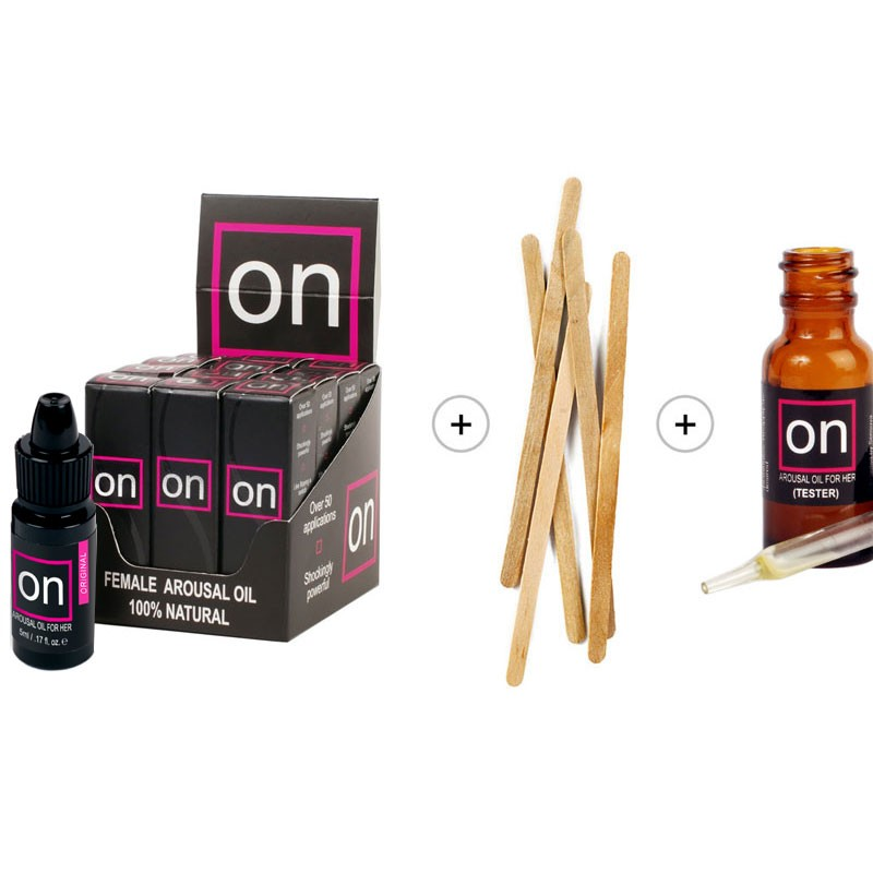 On Natural Arousal Oil For Her Ultra Refill Kit (12 bottles)