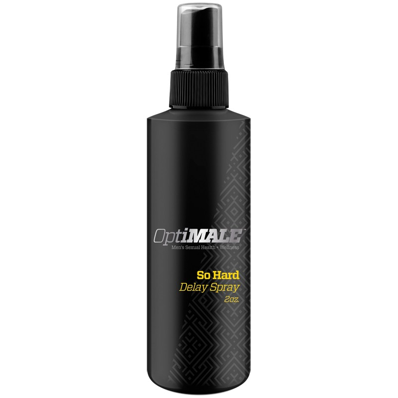 OptiMALE – So Hard – Delay Spray 2oz
