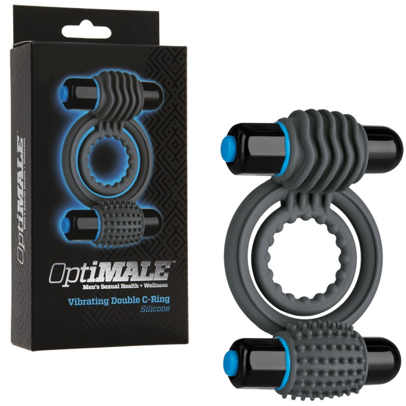 OptiMALE – Vibrating Double C-Ring Slate
