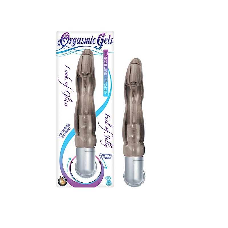 Orgasmic Gels Pleasure Probe-Smoke