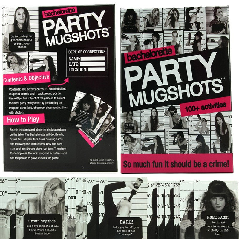 Party Mugshots Game