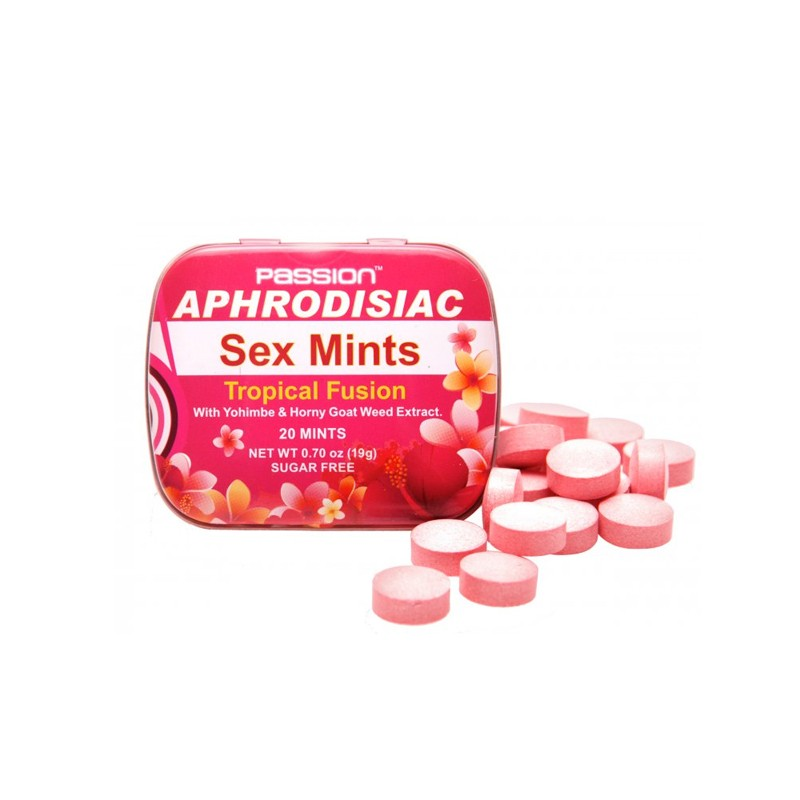 Passion Aphrodisiac Tropical Mints