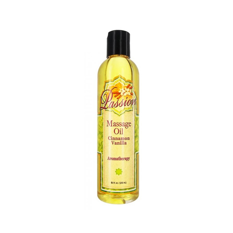 Passion Cinnamon Vanilla Massage Oil 8.5oz