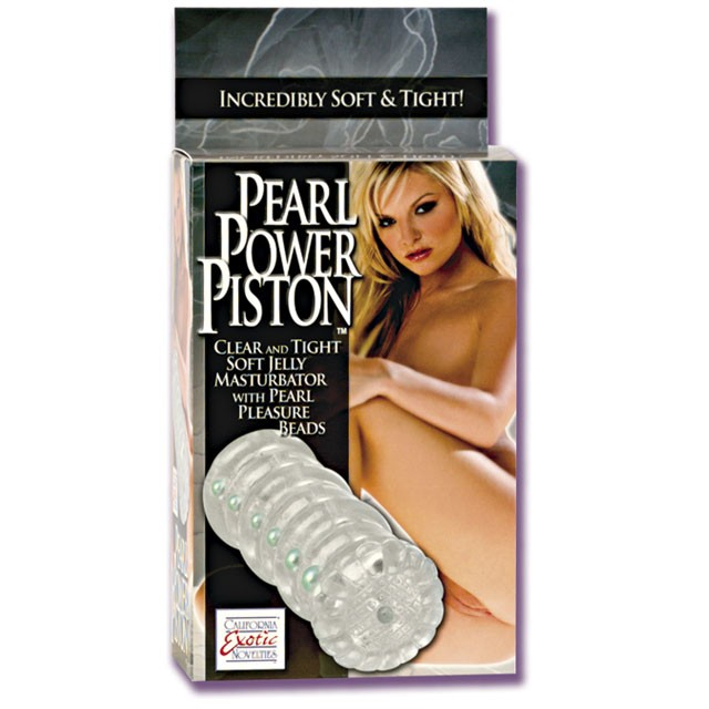 Pearl Power Piston Masturbator