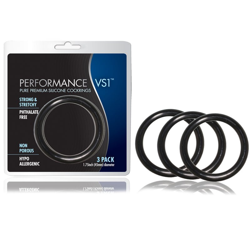 Performance VS1 Silicone Cock Rings