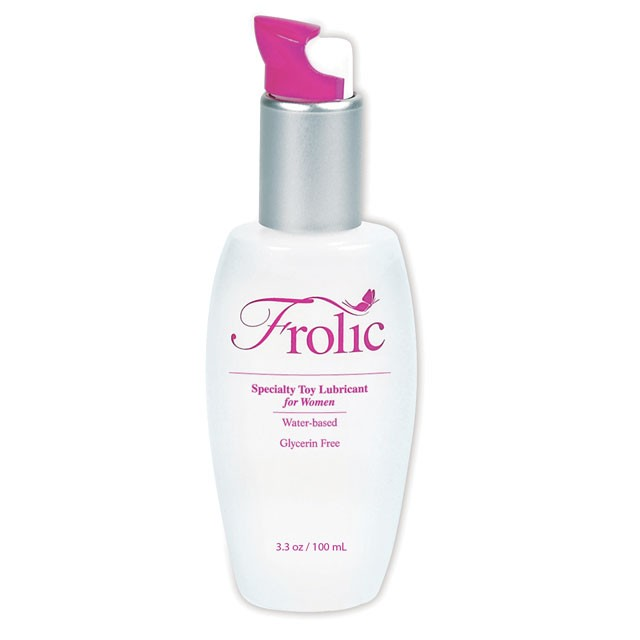 Pink Frolic 3.3oz Water Based Toy Lubricant