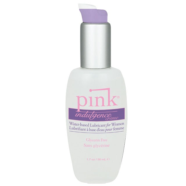 Pink Indulgence Creme Lubricant For Women 3.3oz