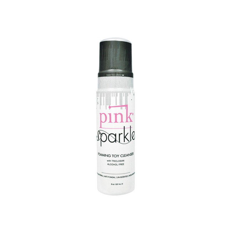 Pink Sparkle Foaming Toy Cleaner 1.7oz.