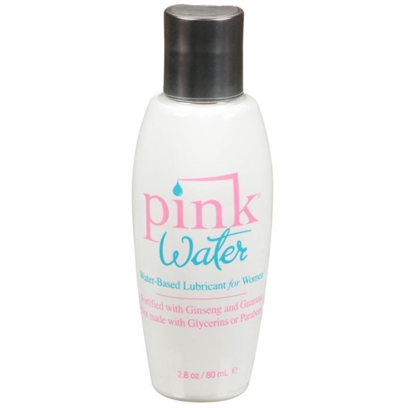 Pink Water 2.8oz Flip Top Bottle