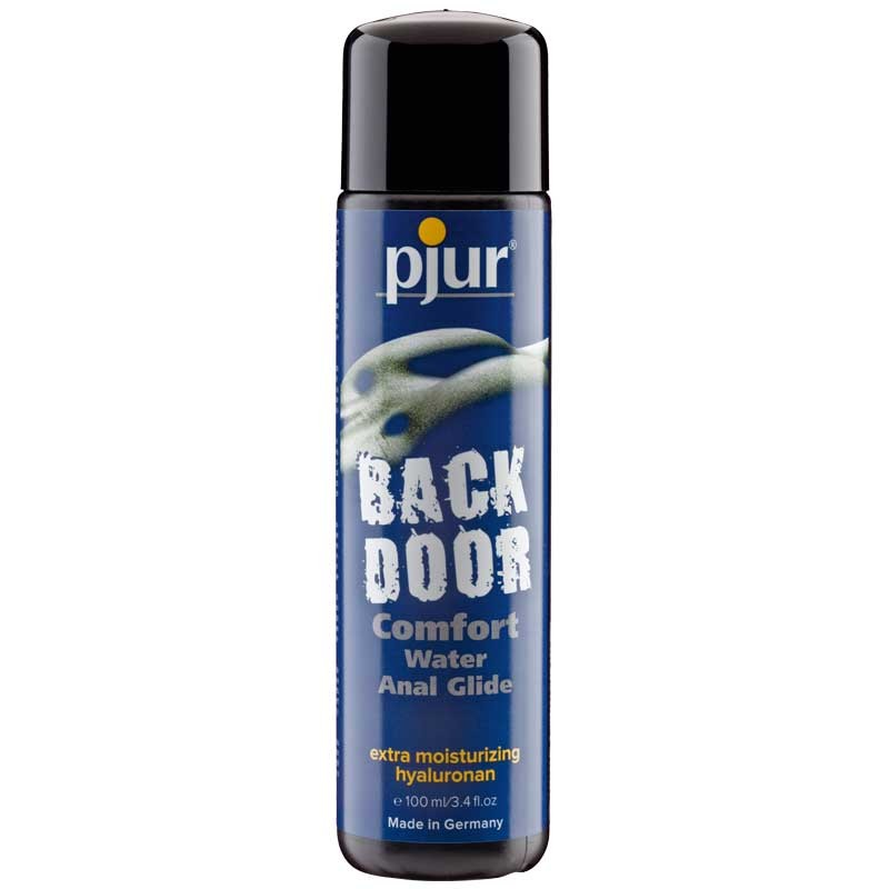 Pjur Back Door Comfort Anal Glide 100ml Water Based Lubricant