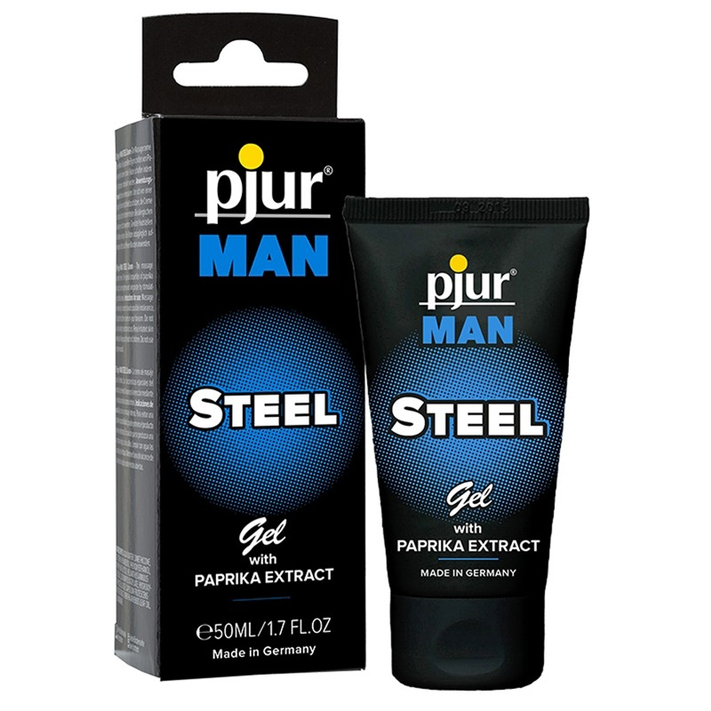 Pjur Man Steel Gel 50ml/1.7oz Tube