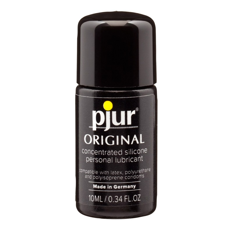Pjur Original Silicone Lubricant 10ml/.34oz Bottle (50pk)