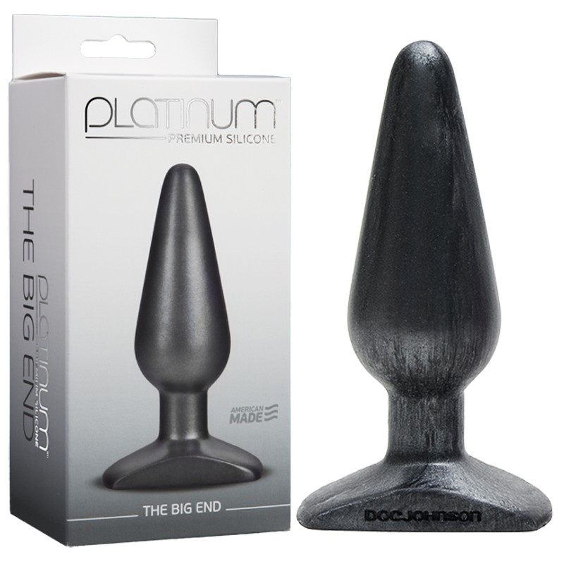 Platinum Premium Silicone - The Big End Charcoal