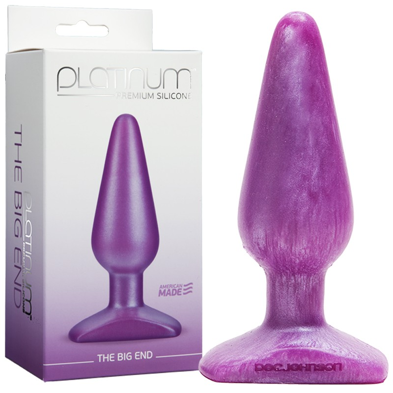 Platinum Premium Silicone - The Big End Purple