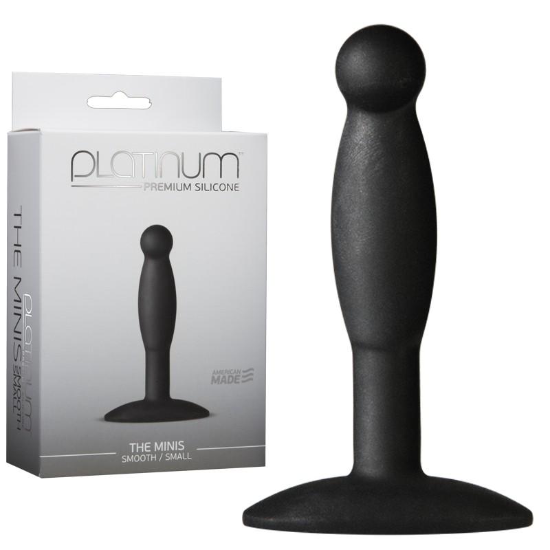 Platinum Premium Silicone - The Minis - Smooth - Small Black