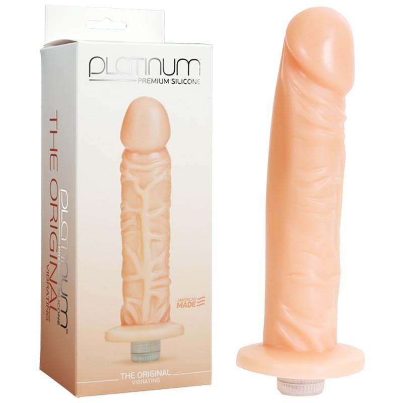 Platinum Premium Silicone - The Original - Vibrating White
