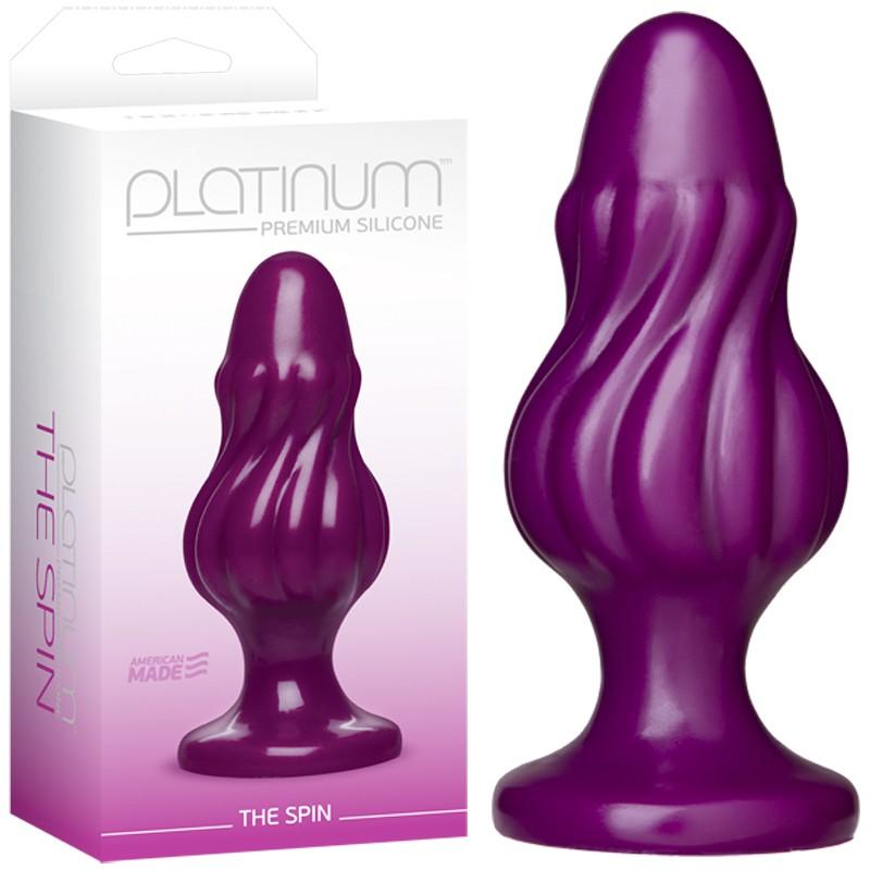 Platinum Premium Silicone - The Spin Purple