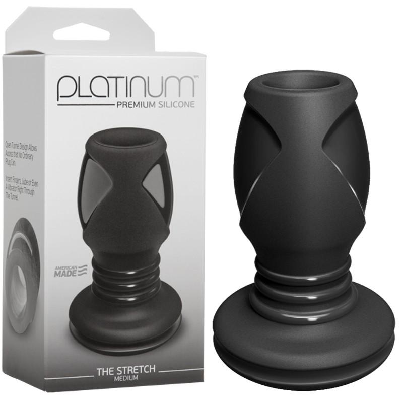 Platinum Premium Silicone - The Stretch-Medium Black