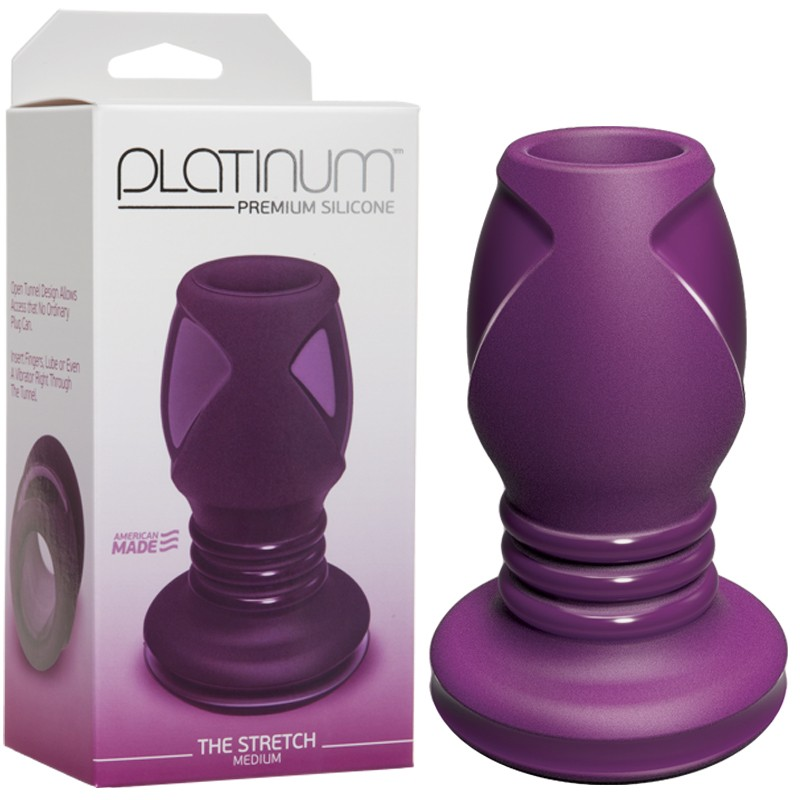 Platinum Premium Silicone - The Stretch-Medium Purple