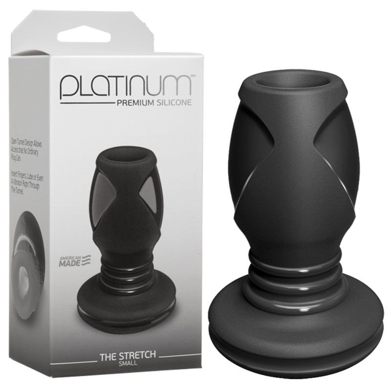Platinum Premium Silicone - The Stretch-Small Black