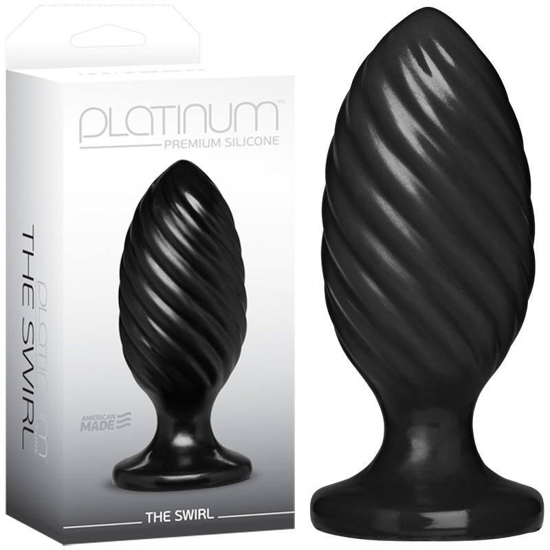 Platinum Premium Silicone - The Swirl Black