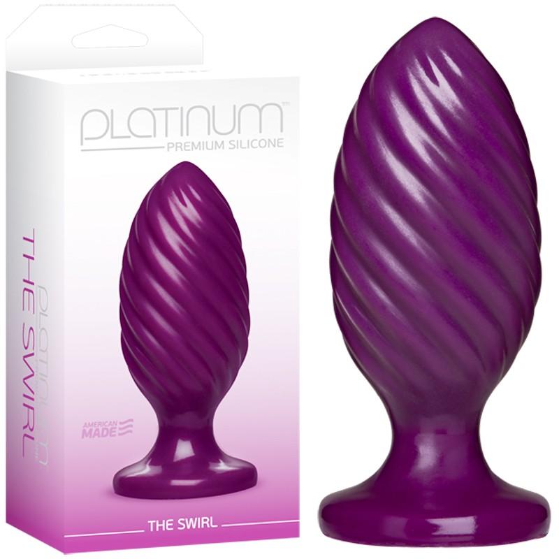 Platinum Premium Silicone - The Swirl Purple