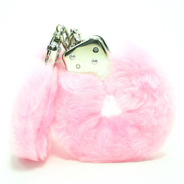 Plush Love Cuffs (Pink)