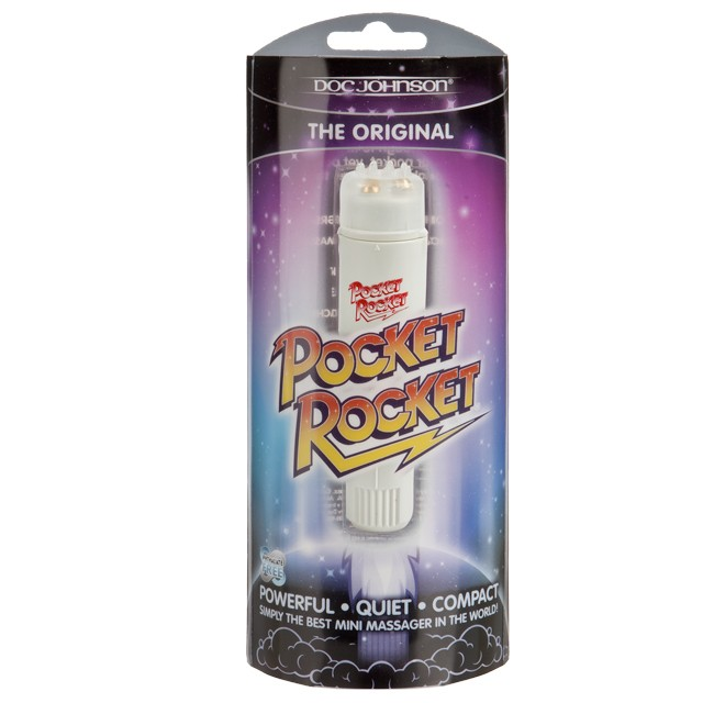 Pocket Rocket Vibe 4in. (Ivory)
