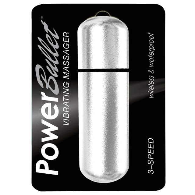 Power Bullet Silver 6in.