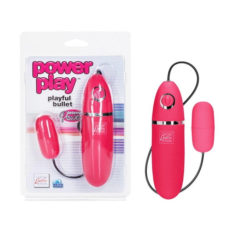 power play playful bullet - Pink