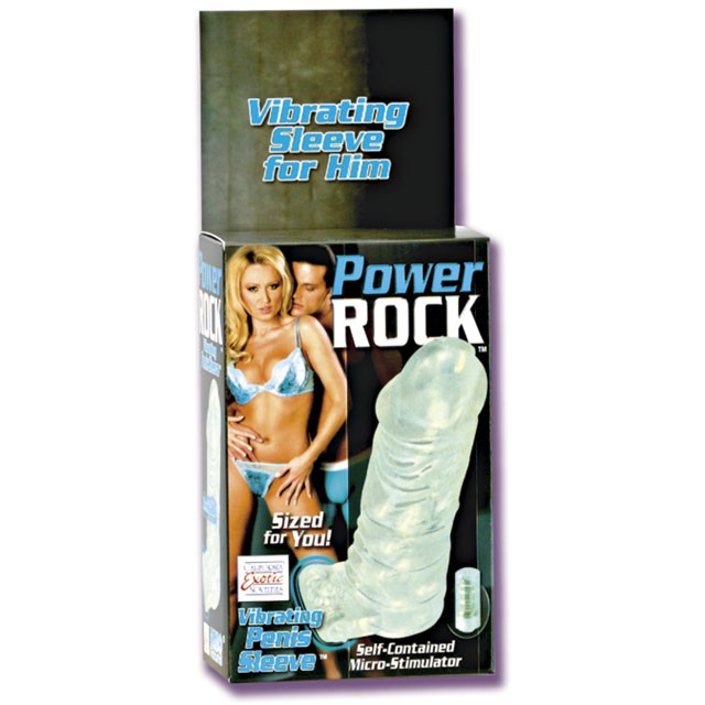 Power Rock - Vibrating Penis Sleeve