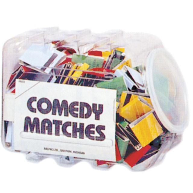 Pre-Mixed Comedy Matches (250/DP)