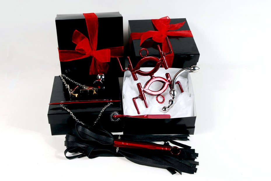 premium gift box set by sex and metal