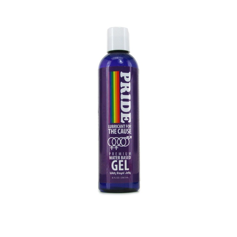 Pride Gel Water Based Lubricant 8 fl oz
