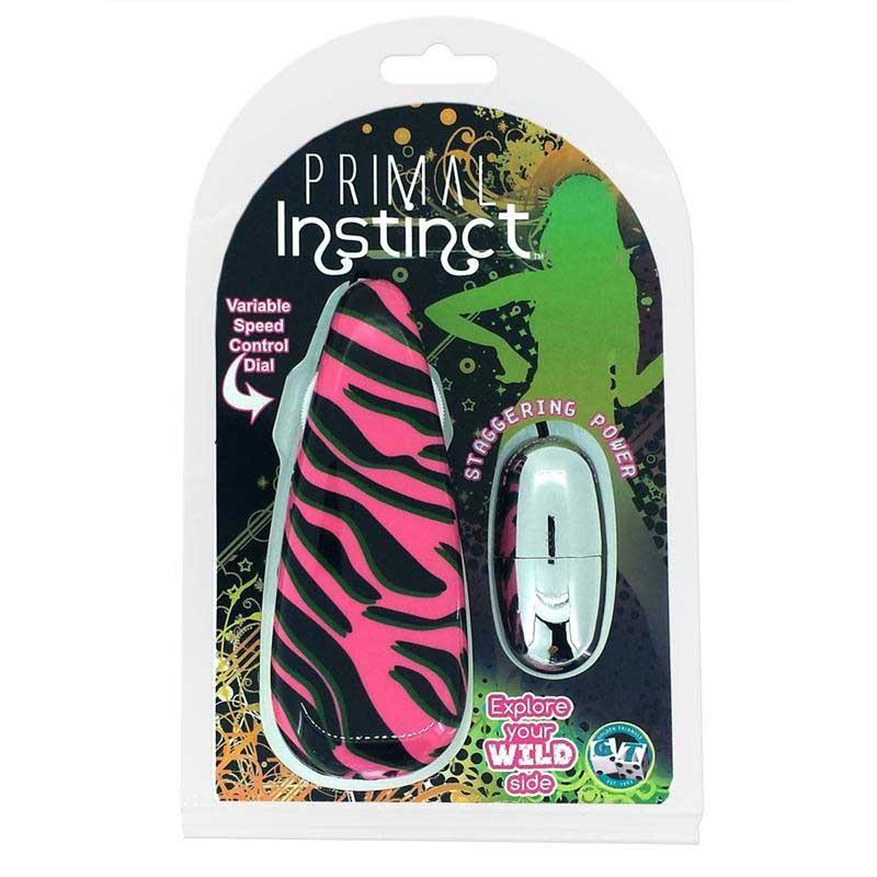 Primal Instinct Pink Zebra