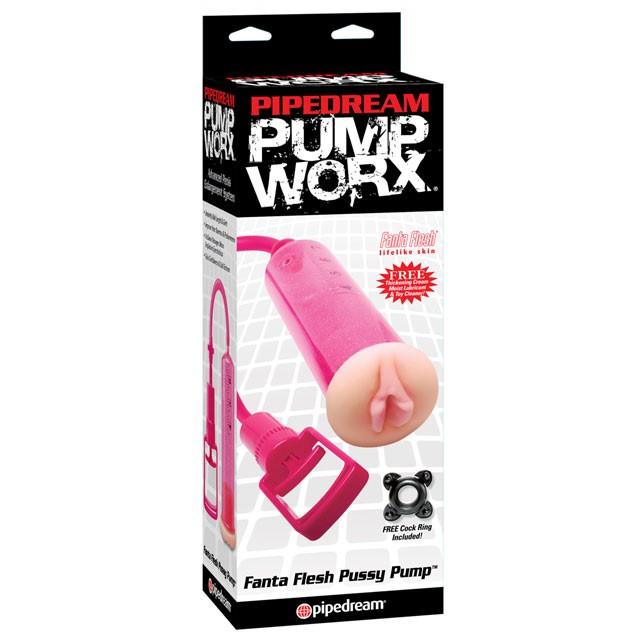 Pump Worx Fanta Flesh Pussy Pump Pink