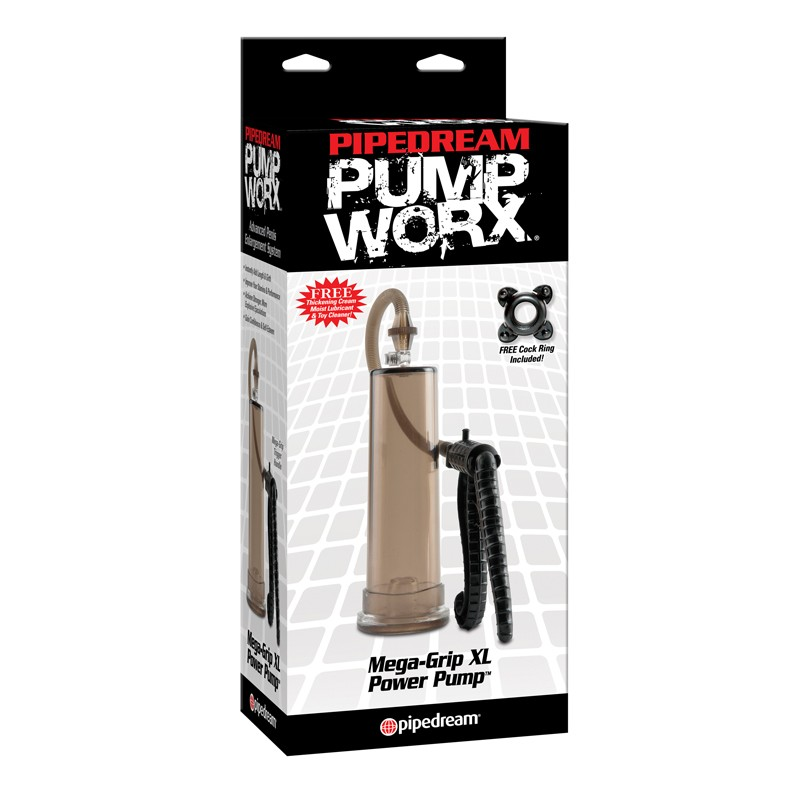Pump Worx Mega-Grip XL Power Pump Black