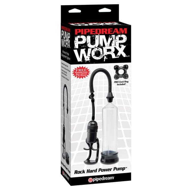 Pump Worx Rock Hard Power Pump Black