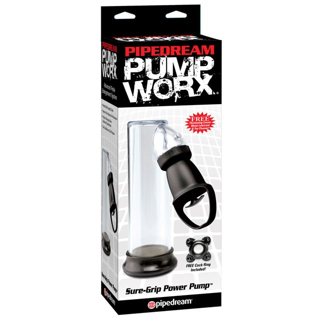 Pump Worx Sure-Grip power Pump Black