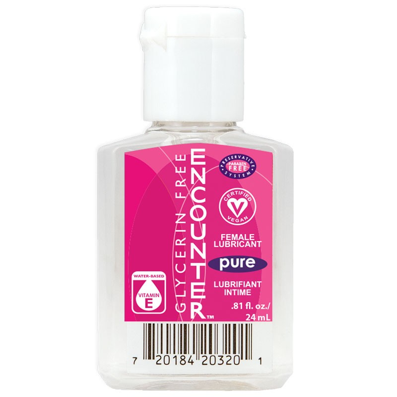 Pure Encounter Female Lubricant Water Based No Glycerin/Parabens 24ml