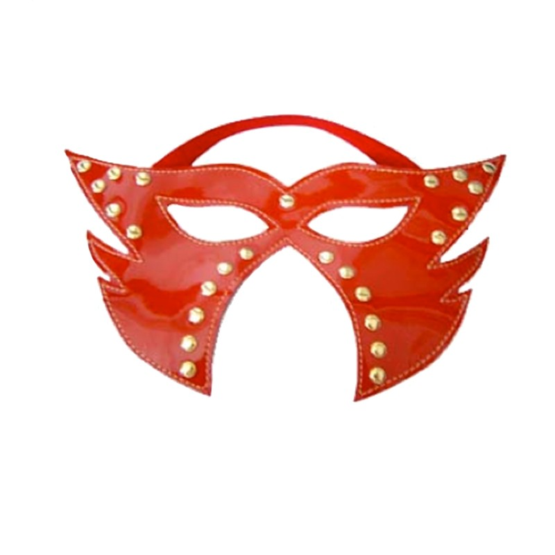 Rapture Red Leather Mask